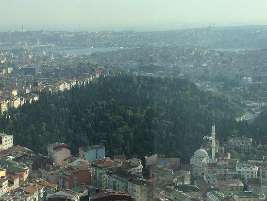 Fraser Place Anthill Istanbul: vista desde el apartamento