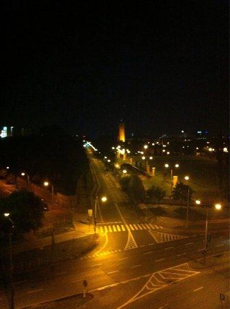 Radisson Blu Sobieski Hotel Warsaw: view from the window