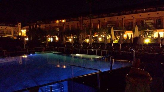 Hotel Caesius Thermae & Spa Resort: 07.09.2014....chiaro di luna