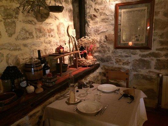 Asador Santa Centola : Interior restaurante
