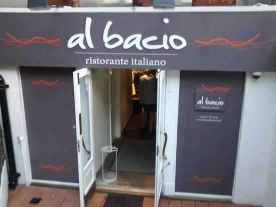 Al Bacio Italian in Clifton, Bristol
