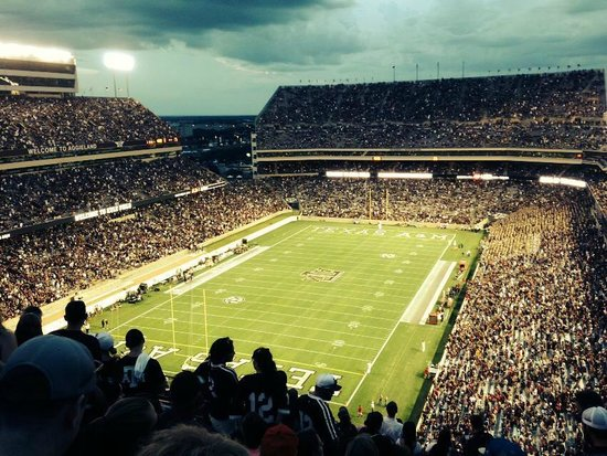Kyle Field: View from new Southeast section