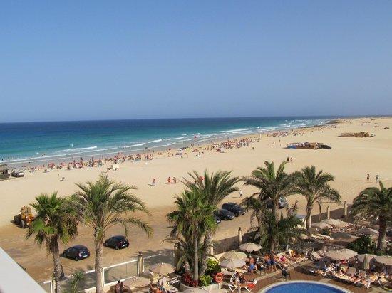 ClubHotel Riu Oliva Beach Resort: Blick aus den zweiten Stock