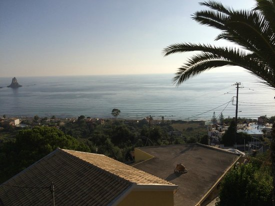 Mazis Apartments: the view from the balcony