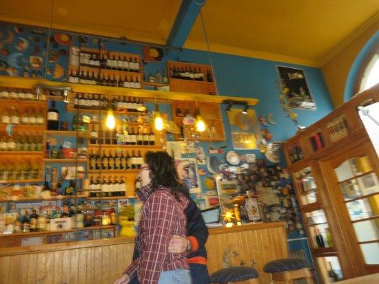 La Luna Restaurant: decoracion diferente