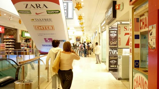 Eilat Marina : Eilat Israel - shopping center