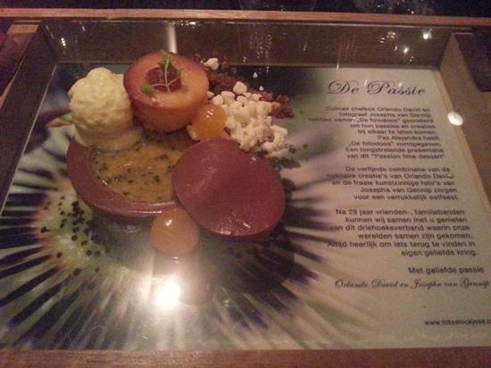 Singel 101 Restaurant: il meraviglioso dolce