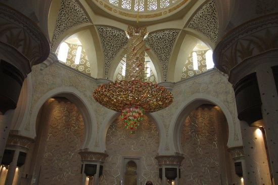 Attractive Chandelier Bild Fr 229 N Schejk Zayed Mosk 233 N Abu
