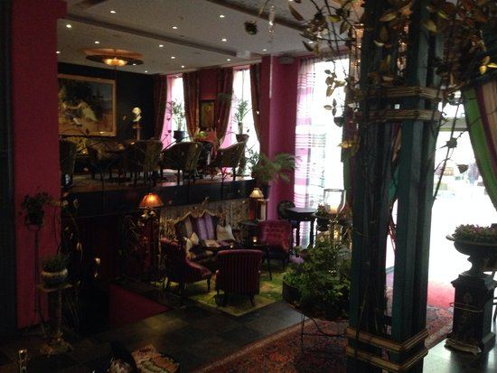 Dorsia Hotel & Restaurant: Lovely interiour