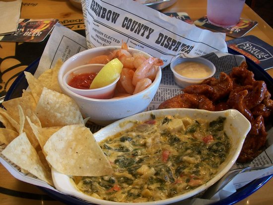 Bubba Gump Shrimp Co. : my appetizer-delcious and different