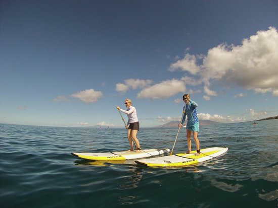 Hawaiian Paddle Sports: Perfect day to SUP