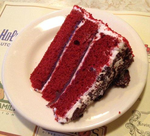 Ponzio's Diner-Bakery-Bar: Red Velvet Cake