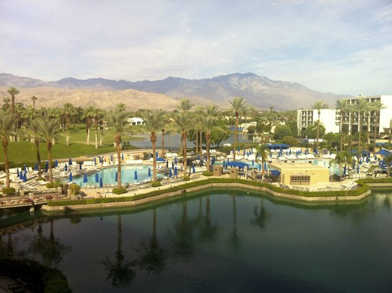 JW Marriott Desert Springs Resort & Spa: View from our room