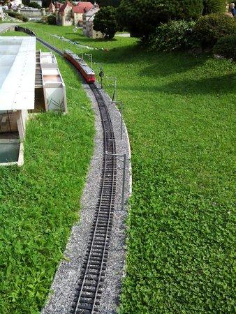 Swissminiatur: trenino rosso