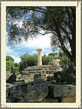 Ancient Olympia: resti