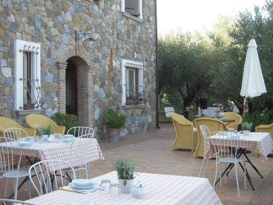 terrazza della colazione - Picture of Donnasilia B&B, Palinuro ...