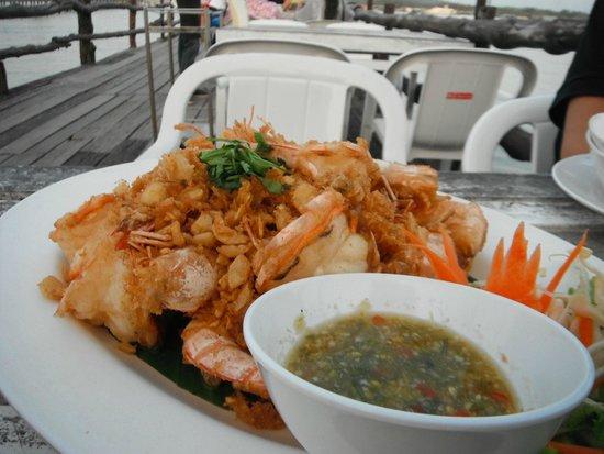 Laem Hin Seafood: Prawns