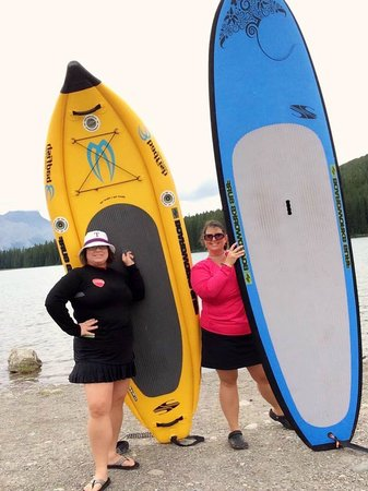 ‪Bow Valley Stand Up Paddleboarding‬