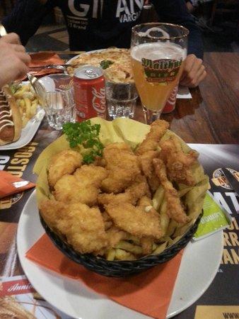 Il Birrificio di Como: fish and chips