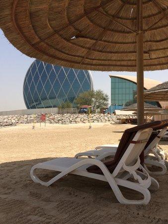 Al Raha Beach Hotel: منظر حلو
