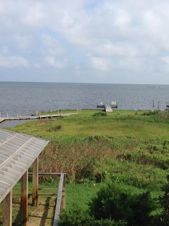 The Inn on Pamlico Sound: our view from Lily