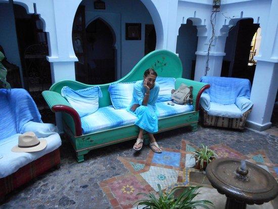 Hotel Riad Casa Hassan Restaurante : Reception area