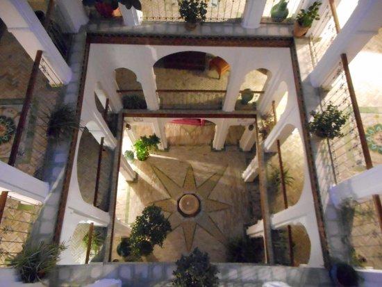 Hotel Riad Casa Hassan Restaurante : Courtyard