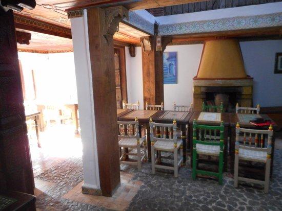 Hotel Riad Casa Hassan Restaurante : Breakfast room
