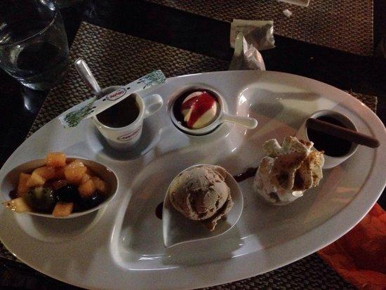Casa Luna : Café gourmand miam miam