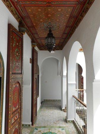 Hotel Riad Casa Hassan Restaurante: Landing outside bedrooms