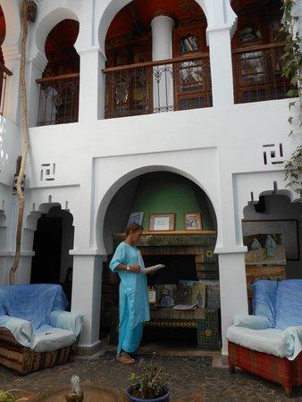 Hotel Riad Casa Hassan Restaurante: Reception area