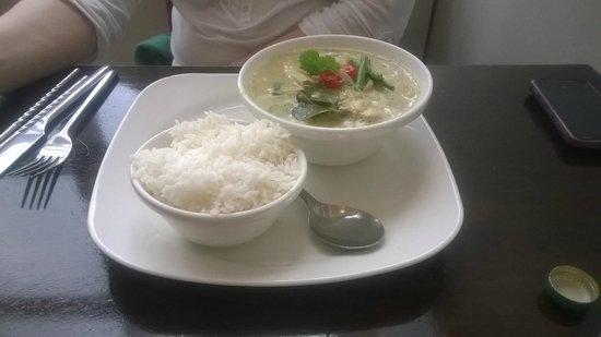 Lemongrass Liffey Valley: Thai Green Curry