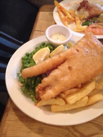 The Harbour Inn: Fish n chips