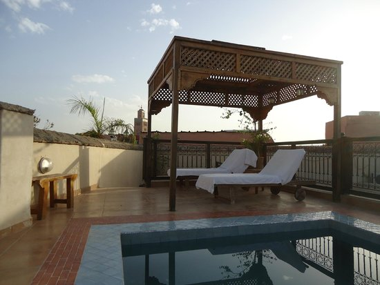 Riad BB Marrakech: Terrasse