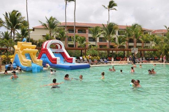 pool slids picture of now larimar punta cana bavaro tripadvisor