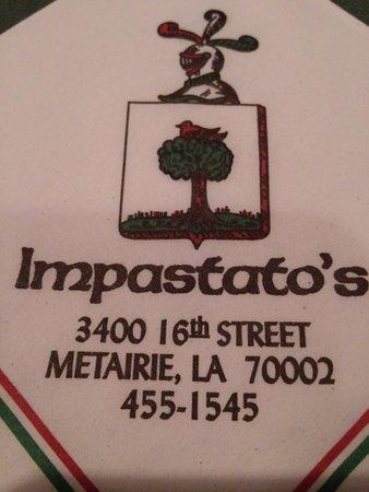 Impastato's Restaurant: directions