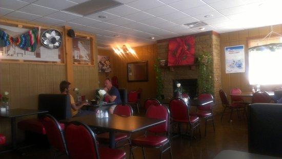 Vegas Fiesta Mexican Restaurant Dining Room At
