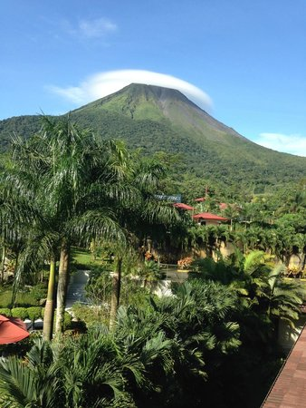 The Royal Corin Thermal Water Spa & Resort: View from our room