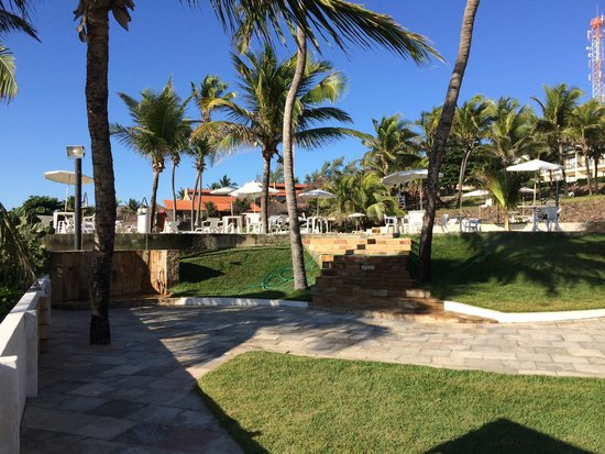 Imira Plaza Hotel: Vista da área de lazer