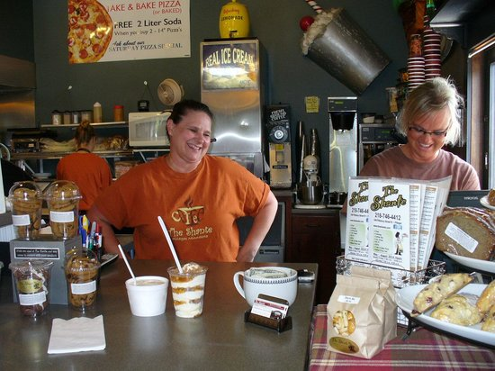 Pillager, MN: Nice folks behind the counter
