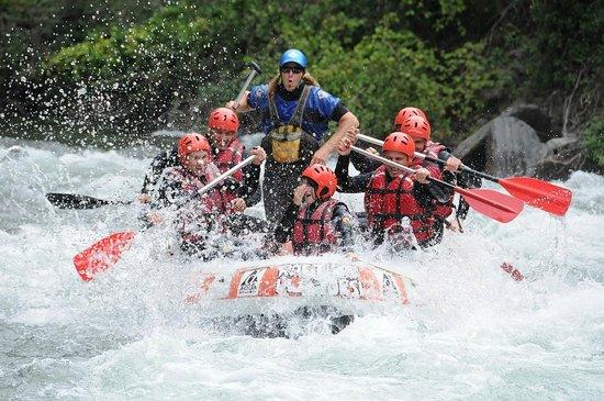 Rafting Llavorsí: rafting con el gran Manel