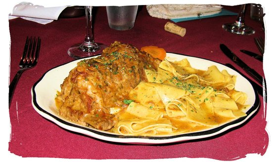 Lauro's Ristorante Italiano: Veal Short Ribs with Pappardelle