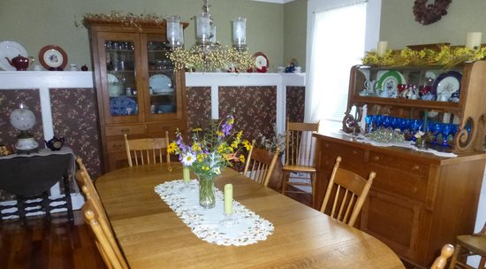 The Alpine Homestead: The Dining Room