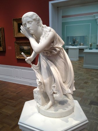Portland Art Museum: Loved this statue