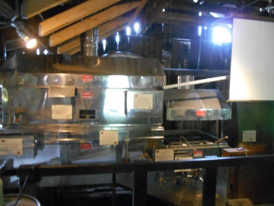 Morse Farm Maple Sugarworks: evaporating equipment to boil the sap