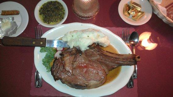 Shippy's Pumpernickels Restaurant: prime rib