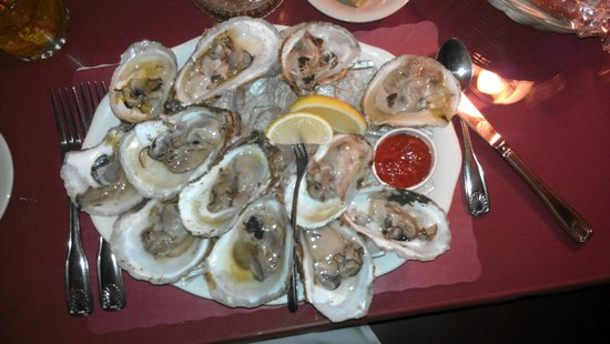 Shippy's Pumpernickels Restaurant: oysters