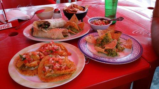 Diego's: fish tacos & burrito