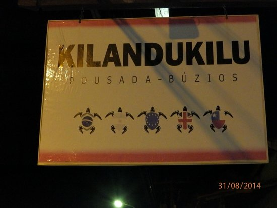 Pousada Kilandukilu : En la puerta