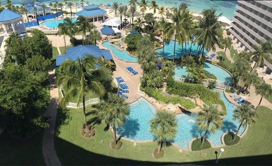 Melia Nassau Beach - All Inclusive: from my bedroom window 9th floor